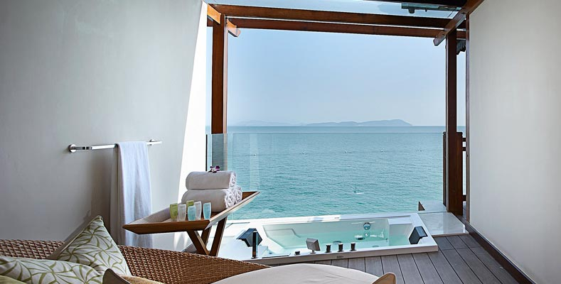 Berjaya Langkawi Resort - Premier Suite On Water - Semi Outdoor Lounge _ Jacuzzi