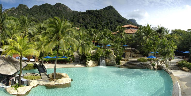 Berjaya Langkawi Resort - Recreation - Swimming Pool Rainforest View